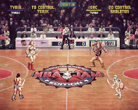 Photo: NBA Jam (Golden Axe Tournament Edition)  https://en.wikipedia.org/wiki/NBA_Jam https://en.wikipedia.org/wiki/Golden_Axe_(series)