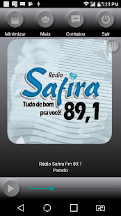 Rádio Safira Fm 89,1- screenshot thumbnail