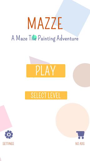 Mazze: A Maze Tile Painting Adventure screenshot 1