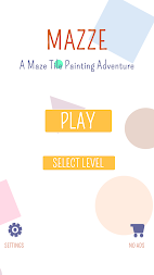 Mazze: A Maze Tile Painting Adventure APK screenshot thumbnail 1
