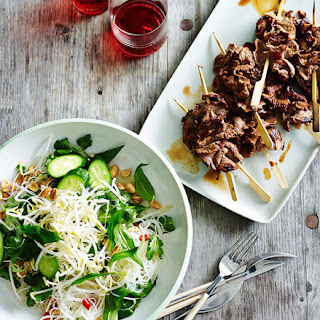 Vietnamese-style Beef And Vermicelli Salad.