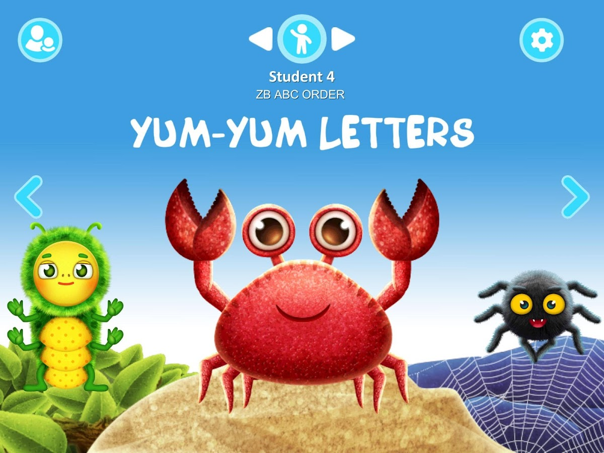 Yum-Yum Letters - handwriting- screenshot
