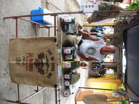 Went ashore to buy coffee in Puntarenas