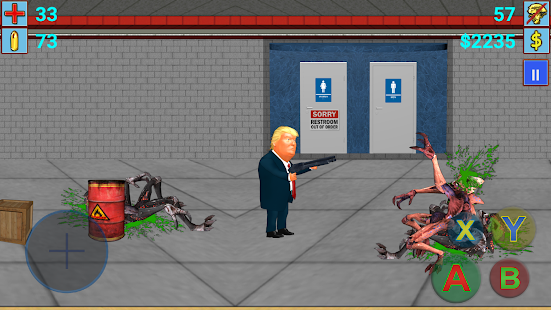Aliens vs President(Trump) III- screenshot thumbnail