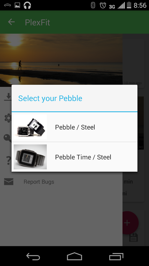 PlexFit for Pebble- screenshot