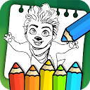 Monster & Family Coloring Game APK