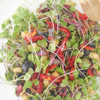 Mixed Bean & Sprout Salad With Herb Vinaigrette