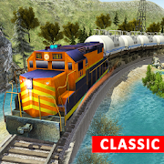 Train Driving Simulator Game: Burning Oil Engine