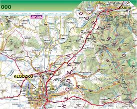 Photo: Mapa Sygnatura: uproszczona trasa: długość 19km, ↑ 780m,↓ 800 m