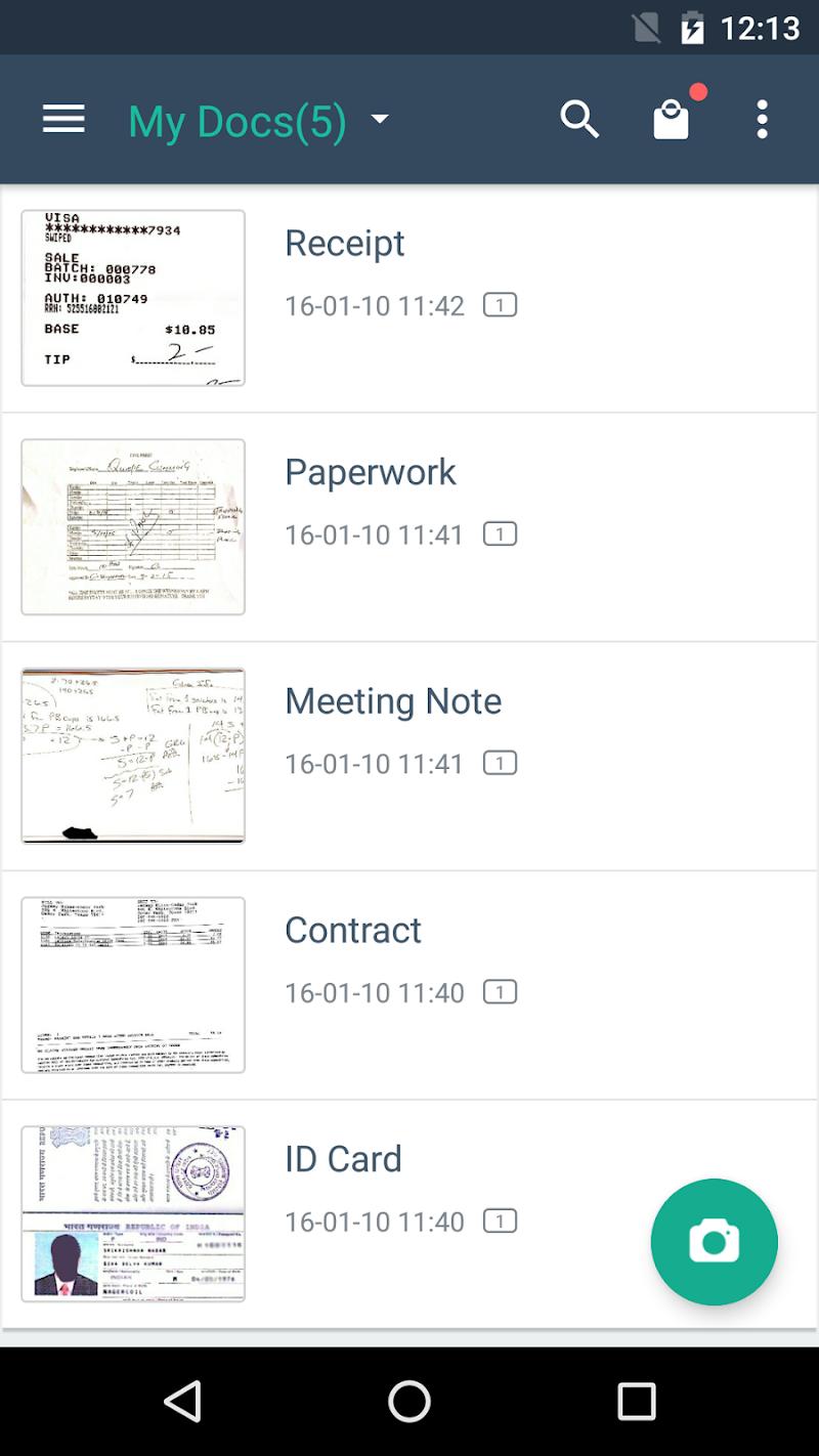 CamScanner - Phone PDF Creator Screenshot 0