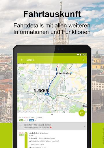 Mvv App Fahrplanauskunft Handytickets Apps Bei Google Play
