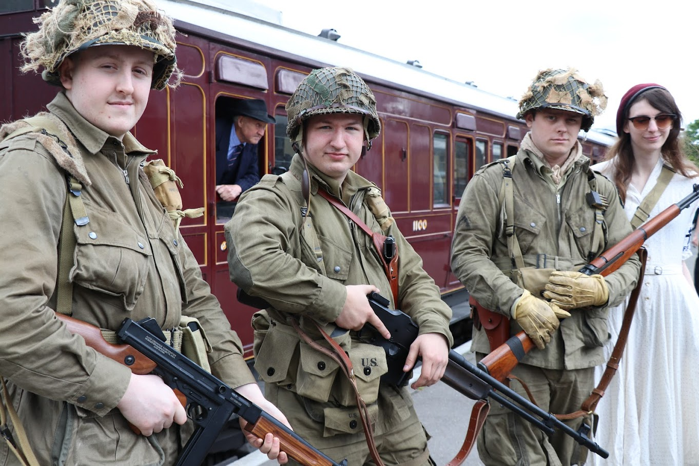 1940s Weekend at the Kent & East Sussex Railway 2017