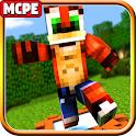 Mod Crash Bandicoot Addon MC Pocket Edition icon