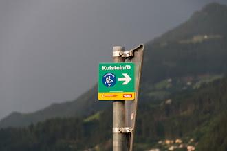 Photo: Drogę powrotną przez Tyrol wybieram całkowicie po trasie rowerowej do Kufstein.