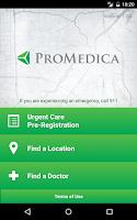 Screenshot of ProMedica