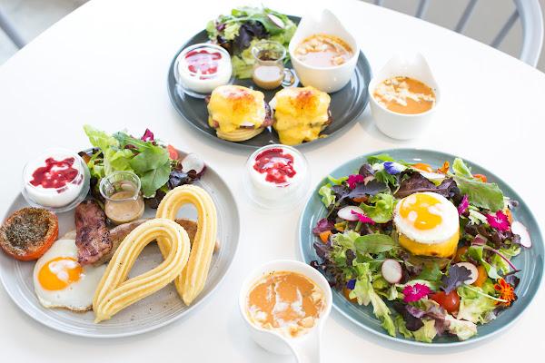 CHURRO & Sweet 吉拿棒專賣店 IG網美出沒地!二樓吃早午餐更好拍!
