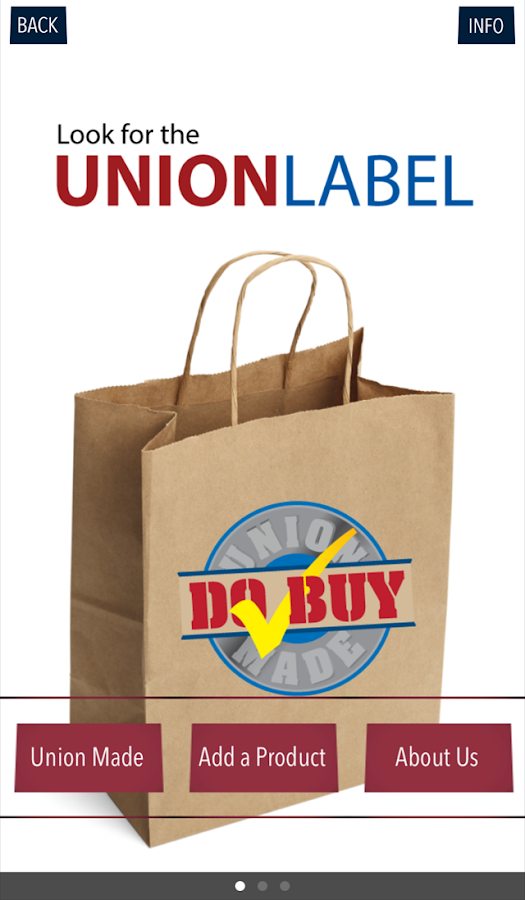 Union Label- screenshot