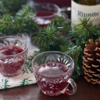 Red Wine Holiday Punch.