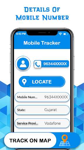 Live Mobile Number Location Tracker App Report on Mobile Action