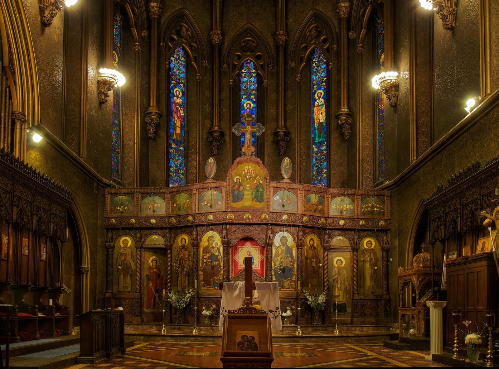 Nhà thờ Chính thống giáo Thánh Sava Serbian – thành phố New York, New York
