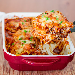 Enchilada Casserole With Enchilada Sauce Recipes