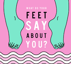 Photo: We have seen and read about predicting the opposite personality by their writing and by their behavior. But have you ever thought that by analyzing feet one's personality can be predicted. - See more at: http://graphs.net/201311/what-do-your-feet-tell-about-you.html#sthash.F9mG1yk4.dpuf