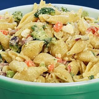 Southern Style Ham Pasta Salad.
