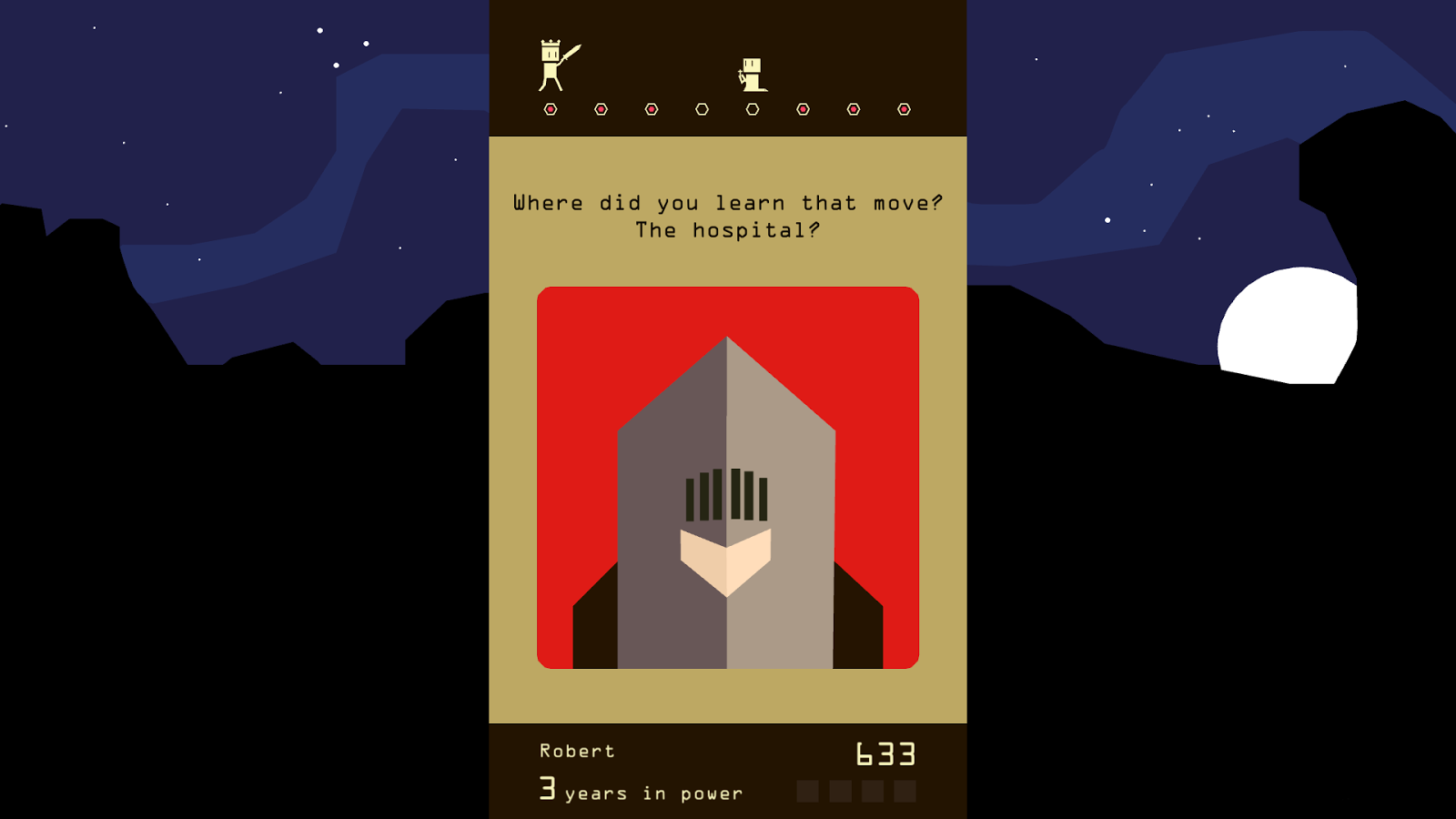 Reigns- screenshot