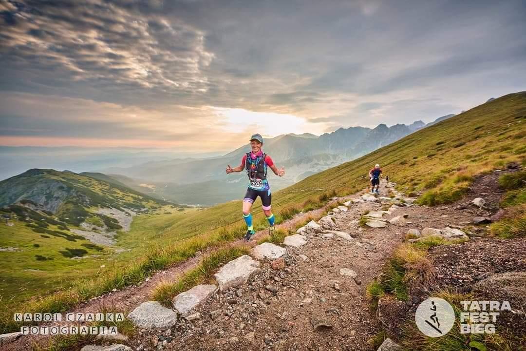 Tatra Fest Bieg to kolejne epickie wydarzenie w biegowym kalendarzu Pauliny. Źr.: Karol Czajka Fotografia