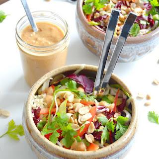 Vegan Thai Peanut & Quinoa Salad