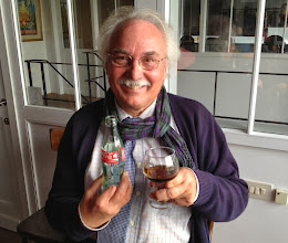 Photo: Best. Bus Driver. Ever. Yves, keeps in the spirit by drinking coca cola out of a St. Bernardus glass!