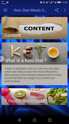 Keto Diet Meals-2 weeks Plan 1.0 screenshots 1
