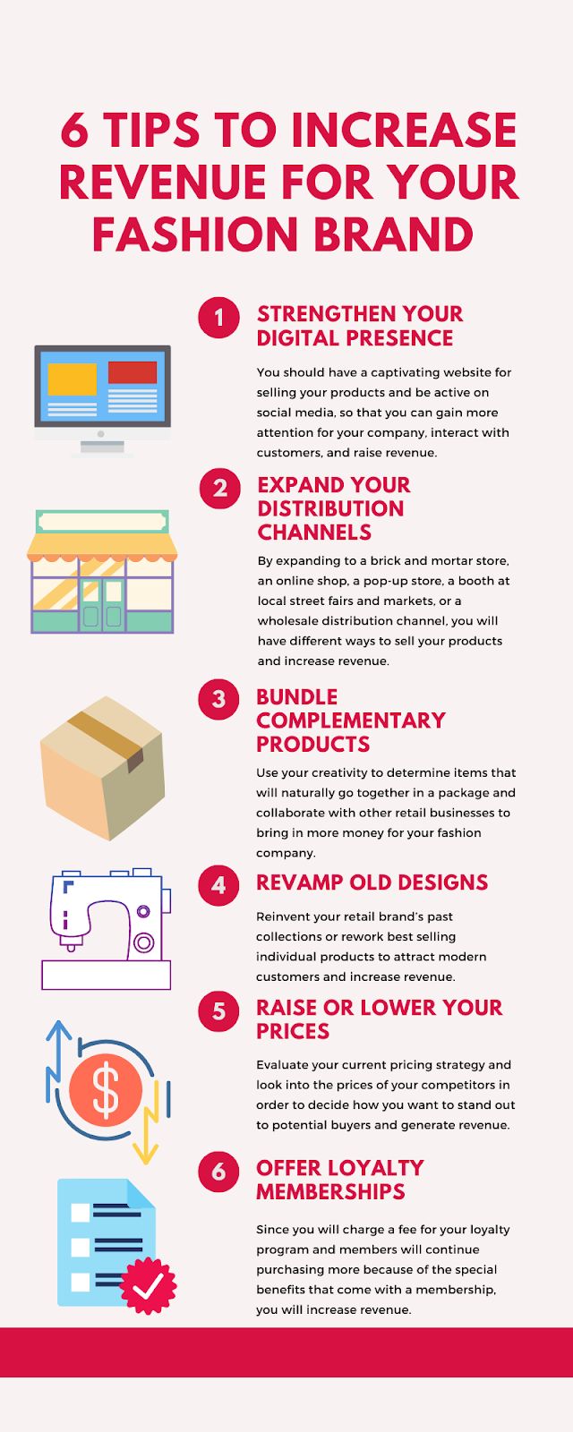6 Tips to Increase Revenue for Your Fashion Brand