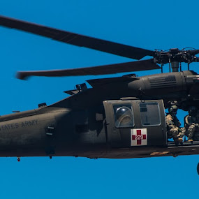 That Others May Live by Andrew Brinkman - Transportation Helicopters ( army, aviation, blackhawk, helicopters, medevac, military )