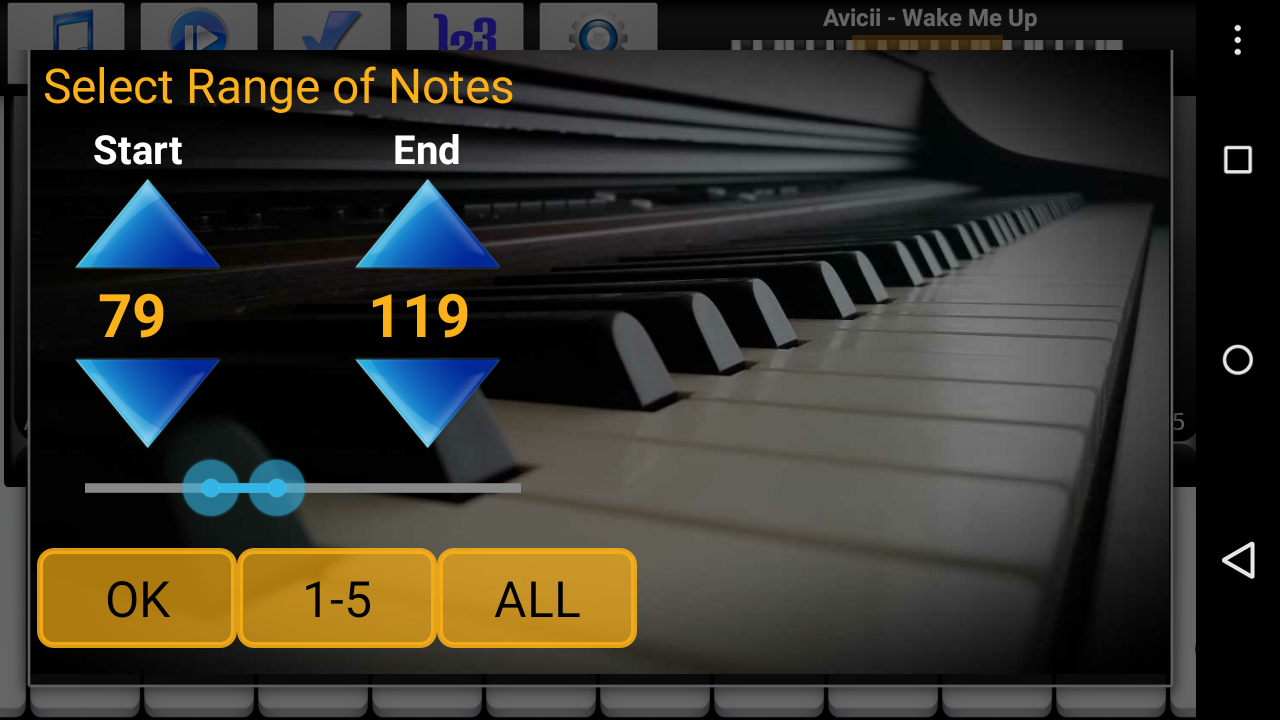 Piano Melody Pro- screenshot
