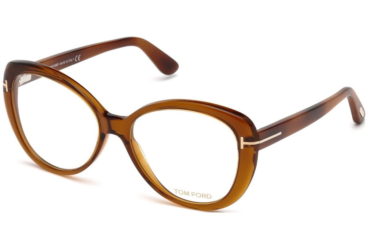 Tom Ford Damen Brille » FT5492«, orange, 044 - orange