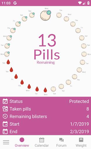 BC Pill Reminder 1.0.3 screenshots 1