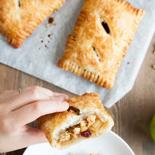 Super Easy, Extra Delicious Apple And Granola Puff Parcels.