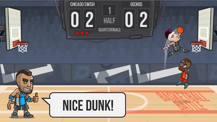 Basketball Battle - screenshot