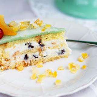 Sicilian Cassata Cake.