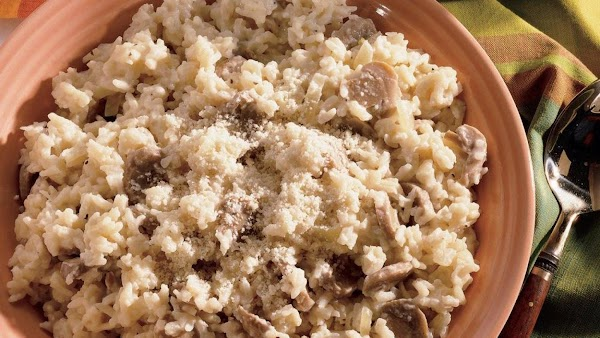 Mushroom Risotto - Quick Recipe