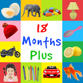 First Words 18 Months Plus (Baby Flashcards)