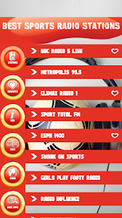 Best Sports Radio Stations - náhled