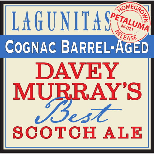 Logo of Lagunitas Cognac Barrel Aged Davey Murray's Best Scotch Ale
