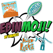 Edinmoji - Edinburgh Stickers!
