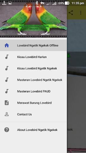 Lovebird Ngetik Ngekek Offline 1.1 screenshots 2