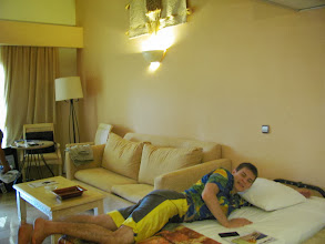 Photo: Лёхино третье спальное место, на нижнем уровне