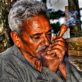 In a high  by Rakesh Das - People Portraits of Men