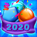 Sweet Candy Mania - Free Match 3 Puzzle Game icon