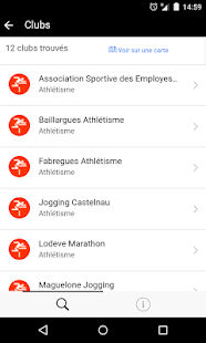 Trouver un club de sport- screenshot thumbnail